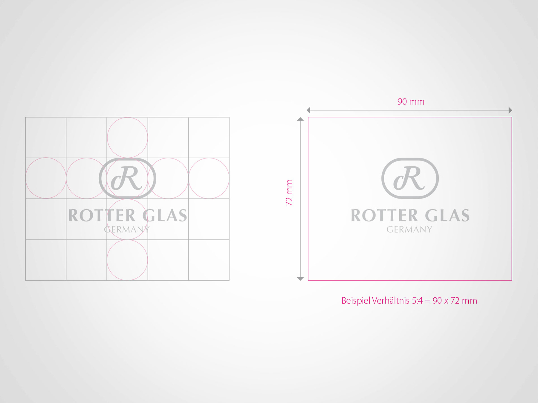 AuD Referenzen Rotter Glas Logo Kreation